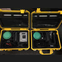 New R6 GPS RTK GNSS Mobile station with Fixed station (1+1)