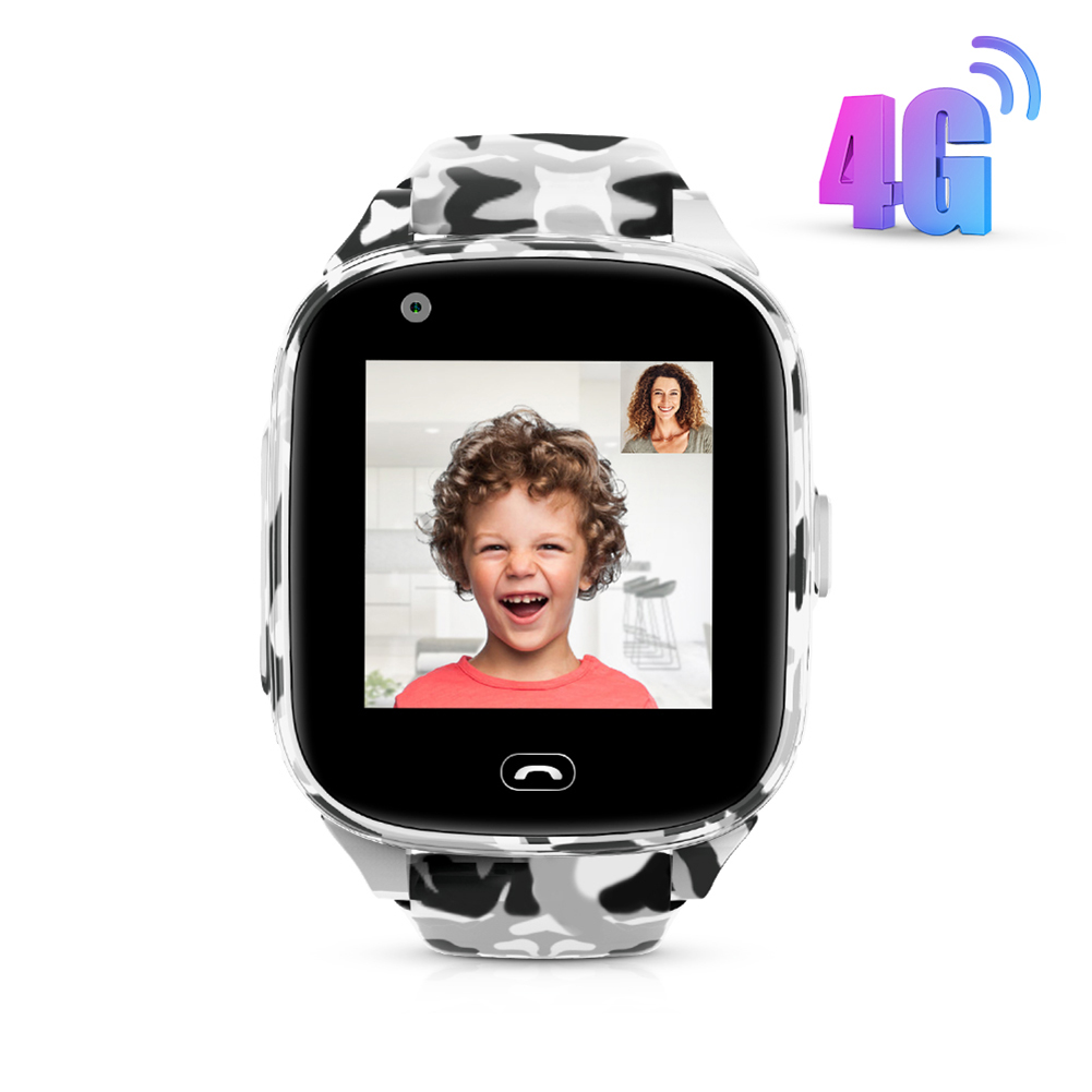 4G Kids Smart Watches Support GPS WIFI LBS Positioning Camera Voice Chat IP67 Waterproof SOS Christmas Gift For Children