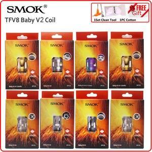 SMOK Coil-Head-Heater Atomizer Electronic-Cigarette-Core Tfv8 Baby V9 Max Original S2