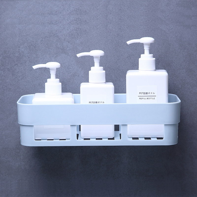 Bathroom Storage Rack Convenient Reusable Corner Shower Shelf Kitchen Home Decoration Bathroom Accessories