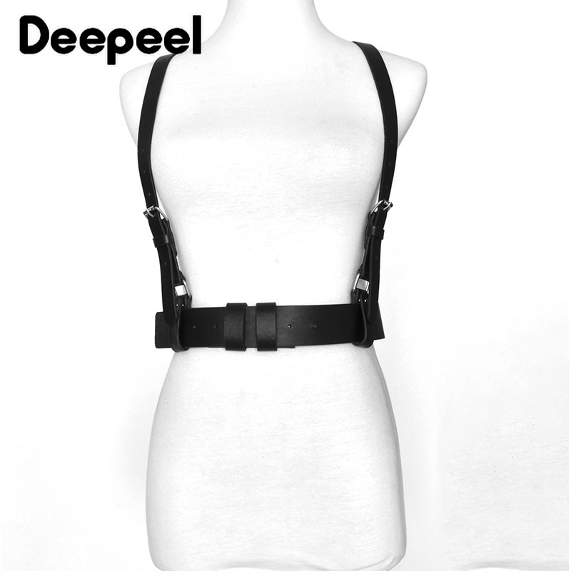 Deepeel 1pc 80cm-130cm Ladies Faux Leather Strap Fashion Wild Elastic Triangle Ladies Strap With Shirt Jeans Strap Belt YK673