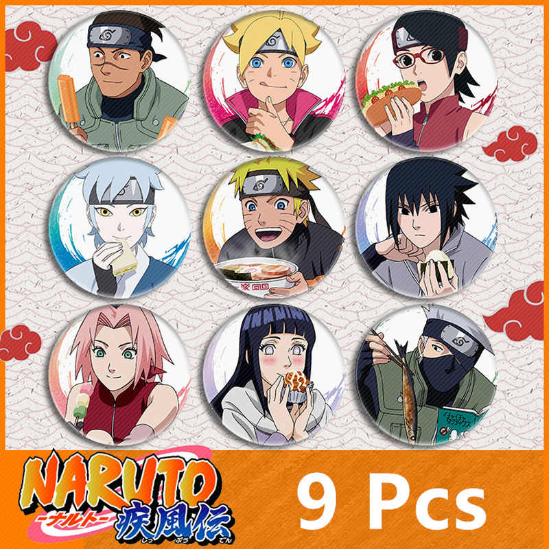 Naruto Broche Cosplay Badge Accessoires Cartoon Anime Uchiha Itachi Sasuke Boruto Sarada Pin Comicon Gift