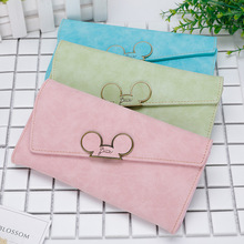 Disney new cartoon mickey mouse long purse women wallet pack