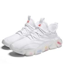 Sapatos masculinos versão coreana moda pai sapatos masculinos casuais all-match aumentou tênis estudante sapatos na moda menssneakers666