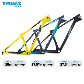 TRINX T800 Carbon Bicycle Frame Carbon MTB Frame 29er 27.5 27.5+ Carbon Mountain Bike Frame 1