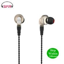 SENFER DT6 פרו 1DD + 2BA היברידי באוזן אוזניות HIFI DJ ריצה ספורט Earplug אוזניות להסרה MMCX כבל V90 ZSN T2 V80 BL03