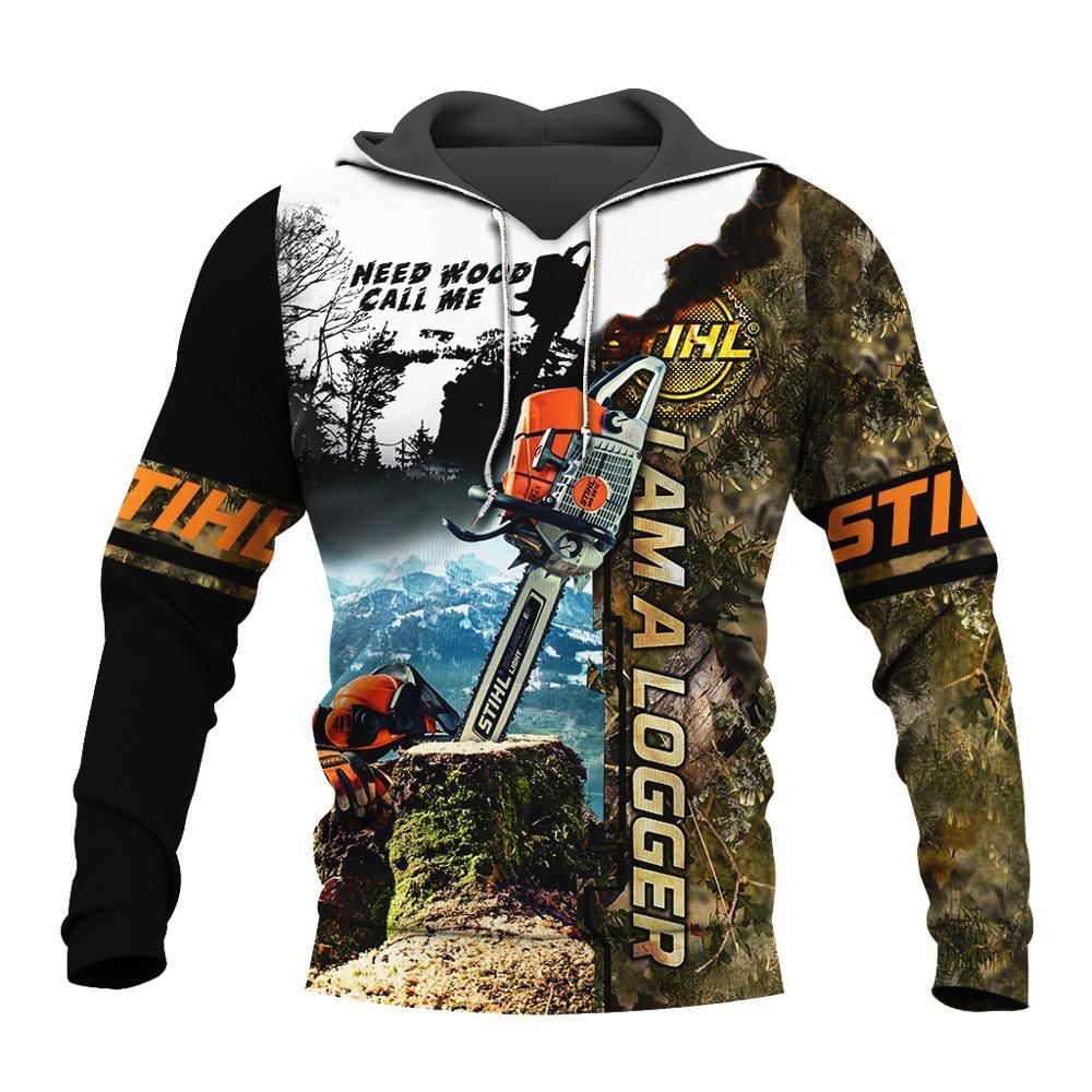 Newest Amazing Cool Chainsaw Hoodies Sweatshirt 3D Print Crewneck Pullover Men Women Hoodies Casual Long Sleeve Outerwear J-003
