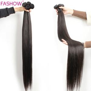 Модные прямые волосы, пряди 30, 32, 34, 36, 40, бразильские волосы, двойные волосы, натуральные человеческие волосы, пряди Remy, волосы для наращивани...