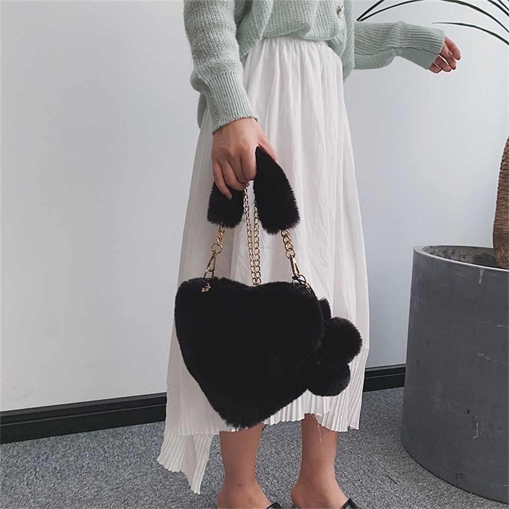 H95b4adaa63d548a4a76ad3f698aed6d1o - Fashion Women Handbags | Cute Fluffy Fur