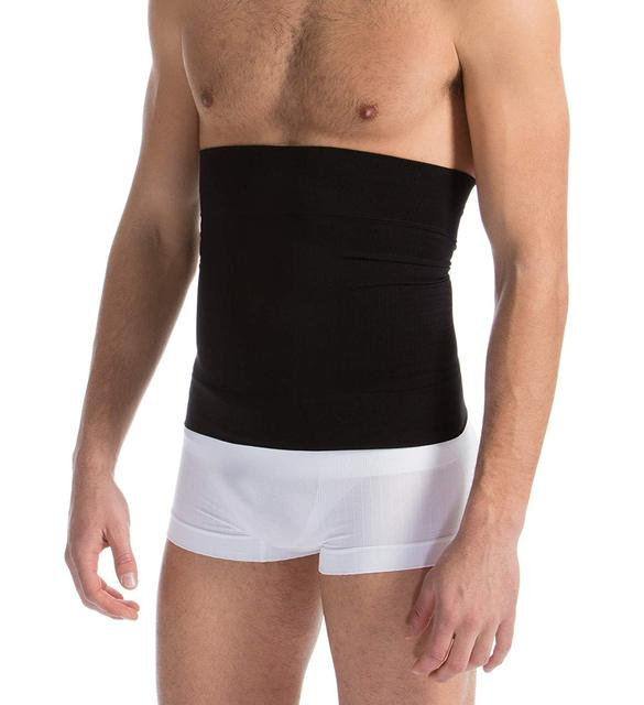 Men's Waist Control Belt Slimming Shapewear Men Body Shapers Abdomen Fat Burning Control Weight Loss Waist Sweat Tummy Corset