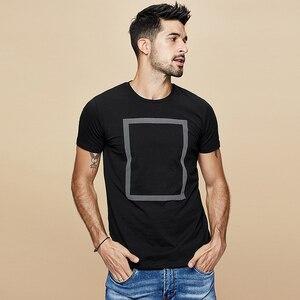 Image 4 - Kuegou 2020 verão algodão imprimir branco t camisa dos homens tshirt marca camiseta manga curta camiseta roupas de moda mais tamanho superior 1613