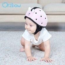 Orzbow-Protector de esquina de seguridad para niños, casco de protección para niños y niñas pequeños, aprender a caminar, casco para bebé, protección para la cabeza