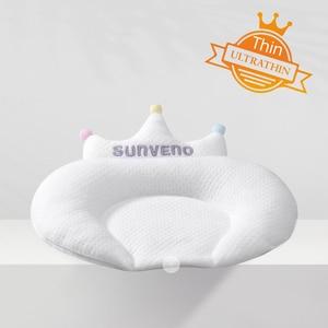 Image 3 - Sunveno Baby Pillow Infant Newborn Sleep Support Concave Cartoon Pillow Cushion Prevent Flat Head