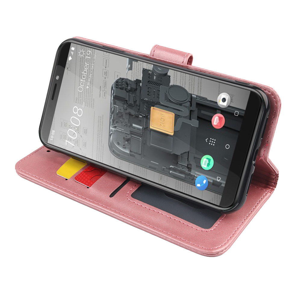 MKS <font><b>Case</b></font> For <font><b>Doogee</b></font> N20 Y8C N10 Y8 <font><b>X70</b></font> <font><b>Case</b></font> Soft <font><b>Silicone</b></font> PU leather flip Phone <font><b>Case</b></font> with Holder Magnetic Card image