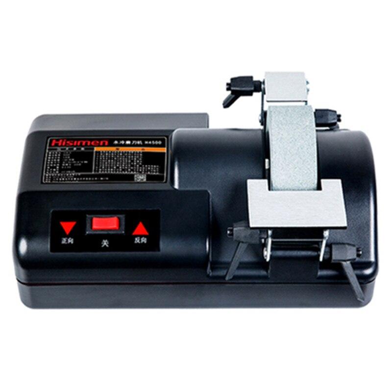 Купить с кэшбэком Woodworking Sharpener Low Speed High Precision Water Cooling Household Grinding Machine Grinding Wheel 5 inch Grinding Machine