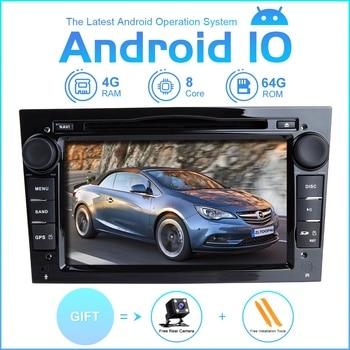 ZLTOOPAI Car Multimedia Player Android 10 For Opel Antara Vectra Crosa Vivaro Zafira Meriva Car GPS Radio Stereo DVD Player