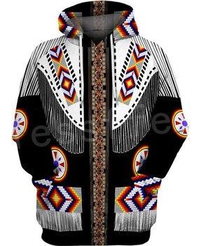 Tessffel Indian Native culture Harajuku Casual Colorful Tracksuit New Fashion 3DPrint Unisex Hoodie/Hoodies/Jacket Men Women s-2 1