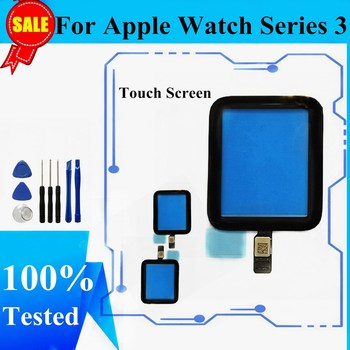 Touch Screen Replacement Glass For Apple Watch Series 3 Touch Screen Digitizer Panel For Apple Watch Series 2 38mm 42mm Glass image