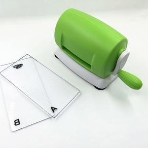 Креативная тисненая машина для резки пластиковой бумаги, практичный DIY ручной станок для скрапбукинга, режущие инструменты для альбома