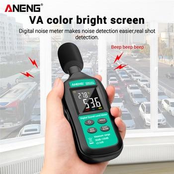 GN101 Digital Noise Meter Measurement 35-135 db Intelligent Sound Level Decibel Monitor Logger Diagnostic-Tool - discount item  20% OFF Measurement & Analysis Instruments