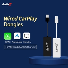 Carlinkit – adaptateur filaire Apple CarPlay /Android Auto, Dongle intelligent Carplay, pour écran système Android, lien miroir, IOS