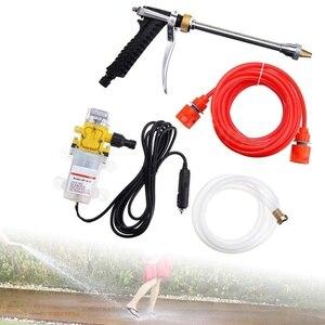 Image 4 - Kit de lavado de coche, Bomba De Agua De Alta Presión portátil de 12 voltios, dispositivo de lavado de coches apto para Auto Rv Marine, ducha de mascotas, limpieza de ventanas