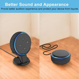 Image 4 - Holder Mount Stand Case For Amazon Alexa Echo Dot 3rd generation Mount Stand work with Amazon Echo Dot 3 Assistant Stand