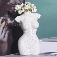 Sculpture Vase Body-Art Desk-Decoration Household-Items Bedroom Living-Room Design Nude