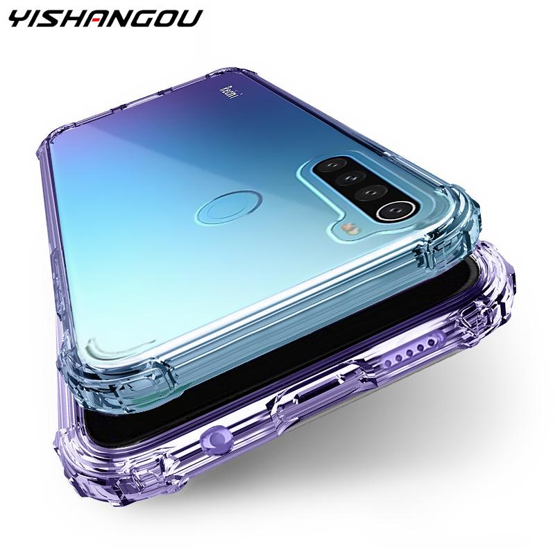 Shockproof Clear Soft Case For Xiaomi Mi Note 10 9T Pro 9 SE A3 A2 Lite A1 Back Cover For Xiaomi Redmi Note 8 Pro 7 6 7A 7 6A 8A