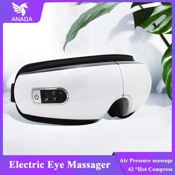 цена на ANADA Smart Eye Massager Electric Vibration Eye Massager Wrinkle Fatigue Relieve Air Pressure Therapy Massage Eye Care Tool