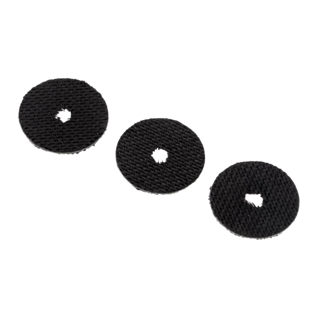 3pcs Carbon Fiber Fishing Reel Smooth Drag Washers For Spinning Baitcasting Reel Baitcaster Reels Parts Fishing Accessories