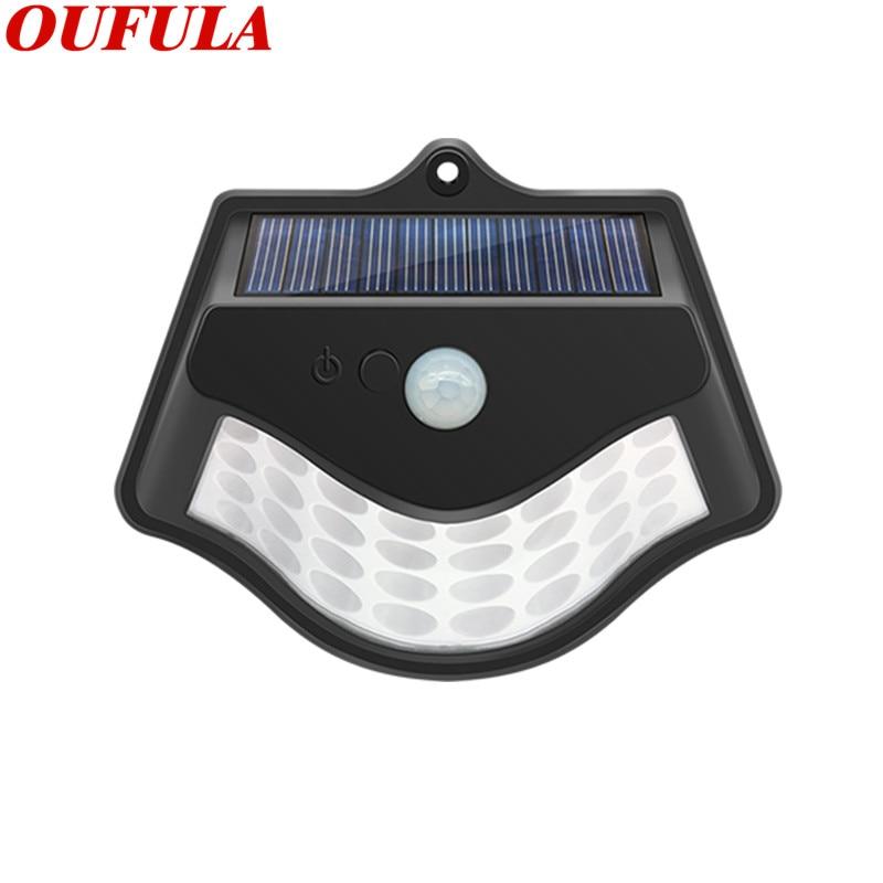 New Solar Wall Light Outdoor Patio Light Waterproof Light Sensor For Garden Road Rooftop Villa  Gate Balcony Fence