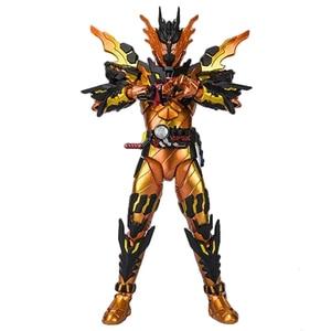 Image 2 - Magma версия наездника в масках, сборка Kamen Rider Cross Z, аниме, прототип, Совместный механизм, экшн фигура, модель, коллекция игрушек, детский подарок