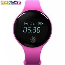 SYNOKE Smart Watch Women Sport Watches Electronic Digital Wristwatch Fitness 5Bar Waterproof Call Reminder