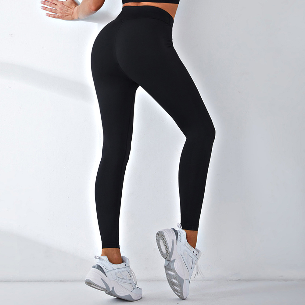 Black Women Leggings High Waist Fitness Legging Push Up Ladies Seamless Workout Pants Female Leggins Sport9s