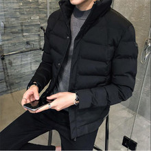 Mens Coats Fashion Overcoats Casual Male Thick Warm Parkas Man Clothes Mens Wint