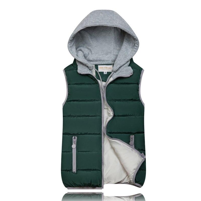 H95b88cc550444e5aa0650aa6199cd51fa 2019 Winter Coat Women Hooded Warm Vest Plus Size Candy Color Cotton Jacket Female Women Wadded Feminina chalecos