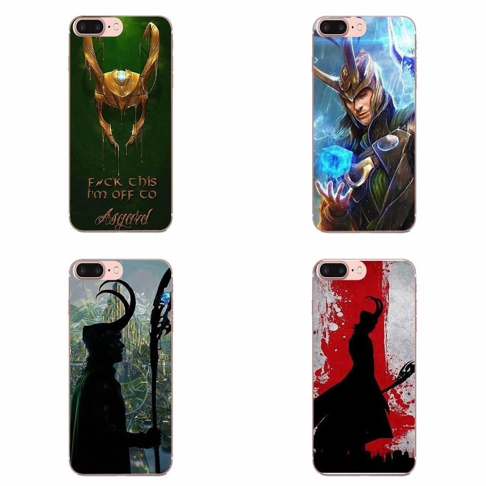 <font><b>Marvel</b></font> The Avengers Hero Loki Thor For Huawei <font><b>Honor</b></font> 4C 5A 5C 5X 6 6A 6X 7 7A 7C 7X 8 8C 8S <font><b>9</b></font> 10 10i 20 20i <font><b>Lite</b></font> Pro image