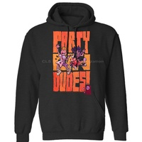 BILL AND TED NAVY PARTYDUDES Unisex Mens Womens Winter Hoodies Sweatshirts Free Shipping