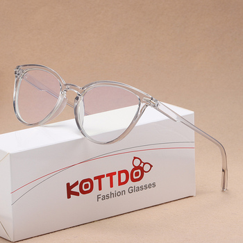 Fashion Classic Anti-Blue Light Eyeglasses Vintage Ultralight Square Plastic Glasses Frame New Women Prescription
