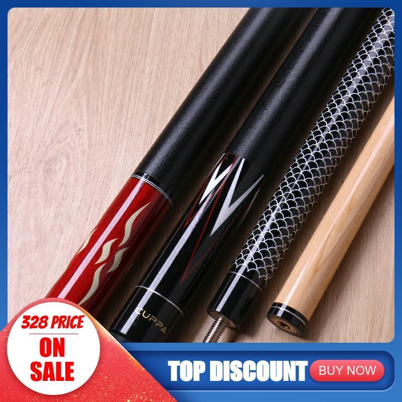2019 Cuppa HS Billiard Pool Cue Stick With Case 12.75 Mm 11.75 Mm Pool Cue Kit Durable Professional Set Billiard Cue Black 8 Kit