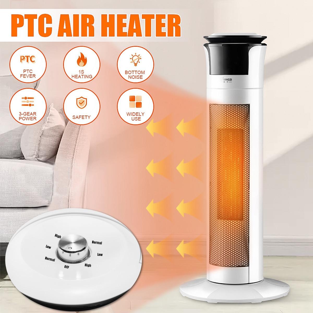 220V 2000W Portable Electric Heater Fan Heater Desktop Household Wall Handy Heating Stove Radiator Warmer Machine For Winter