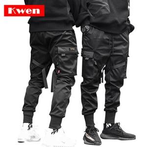 Image 1 - Male Dancing Pant Harem Pant Men Streetwear Punk Hip Hop Casual Trousers Joggers  Men Multi pocket Elastic Waist Design M 4XL