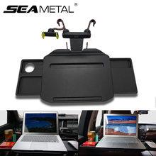 Çok fonksiyonlu araba direksiyon telefon tutucu evrensel araba masası kahve tutucu katlanır dizüstü bilgisayar masası koltuk tepsisi ürünleri