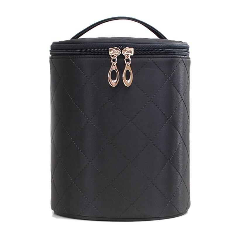 Storage Bag Home Travel Skin Care Bag Simple Waterproof Cosmetic Bag Large Capacity Multi-Purpose Barrel Suitcase