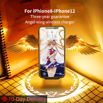 10W QI Wireless Charger Dock for iPhone8/8P/X/XR/XS/11/11Pro/11Pro max /12/12P 12pro max phone charger for samsung huawei holder 1