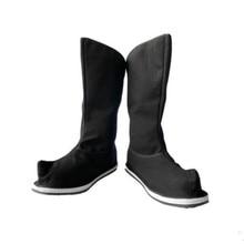 Ботинки воина черного цвета для взрослых; обувь древней династии; аксессуары для одежды; костюм воина