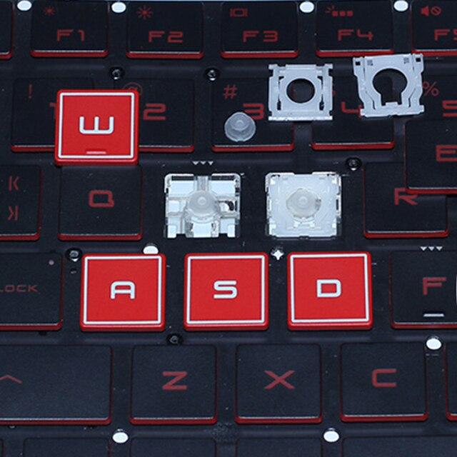 Oryginalny asus rog STRIX GL503 GL503VS GL503V GL503VD serii klawiatura laptopa klucz i klipy