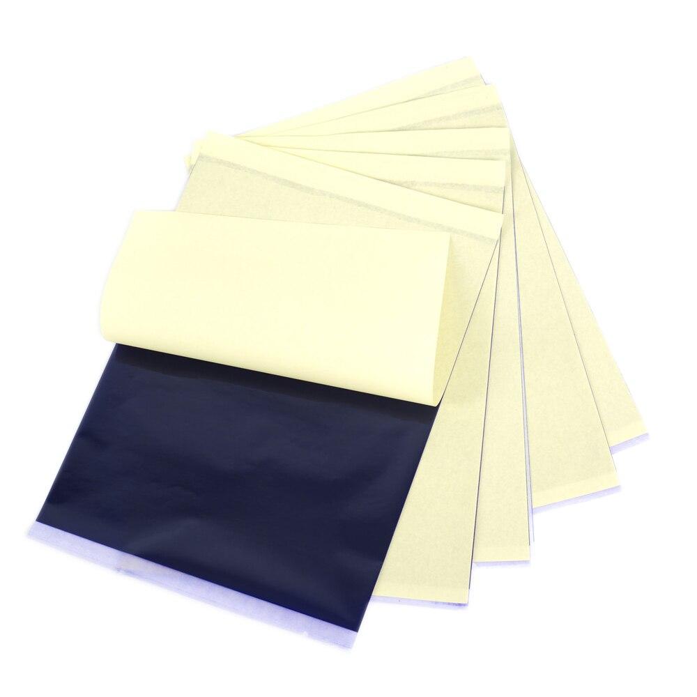 Tattoo Transfer Paper 5/10/20/30/50/100 Sheets Tattoo Supplies Thermal Stencil Copy Paper for Tattoo Transfer Machine Printer