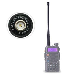ABKK-Walkie talkie for BaoFeng uv-5r antenna SMA-Female UHF/VHF 136-174/400-520 MHz for UV5R UV-82 GT-3 Baofeng accessories